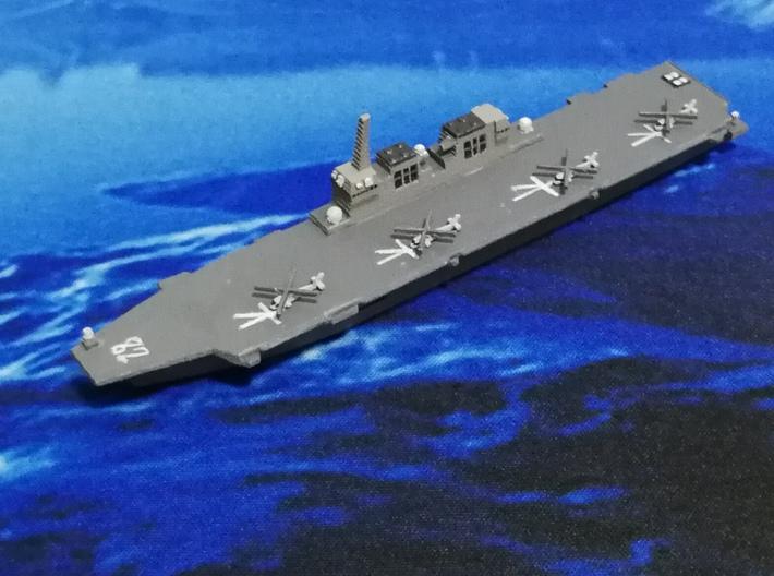 Hyuga-class DDH, 1/1800 3d printed W/ MH60 Set, Painted