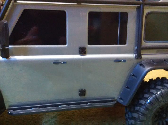 Door hinge for Traxxas TRX-4 body 3d printed