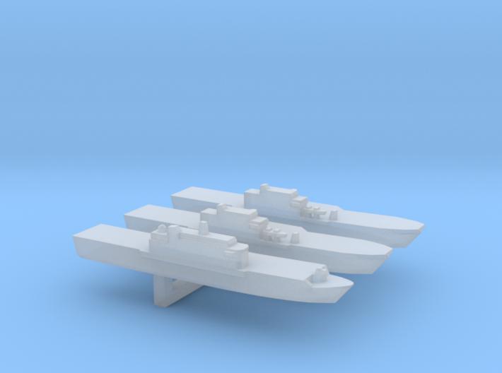 San Giorgo-class set, 1/6000 3d printed