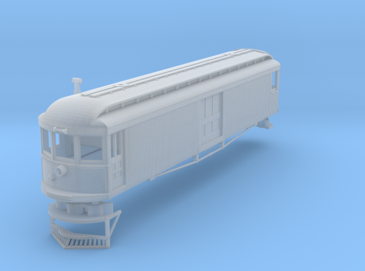 #160-1511 Interurban Box Motor w/ clerestory roof 3d printed