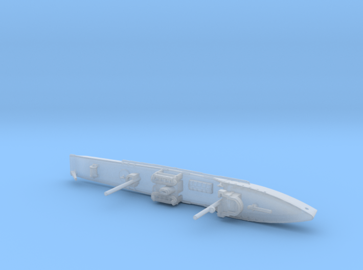 1/1800th scale Fugas class soviet minelayer ship 3d printed