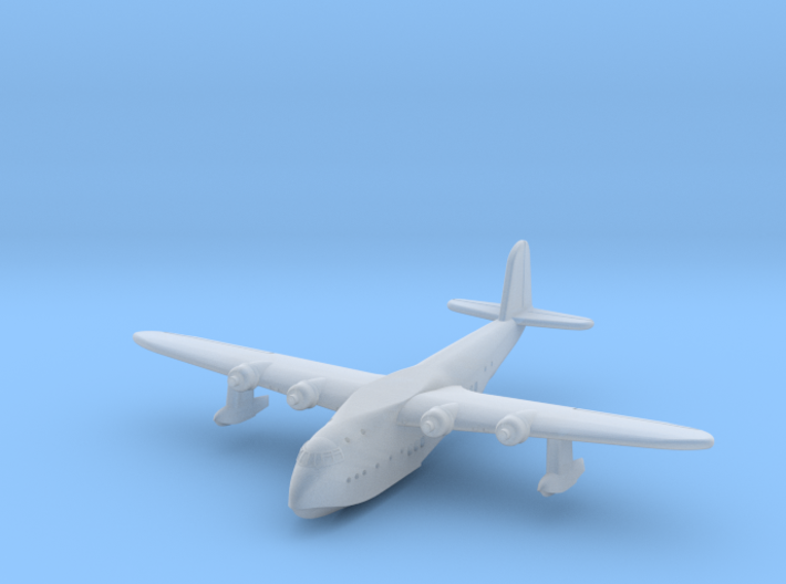 Short Empire Flying Boat 1/900 scale 3d printed