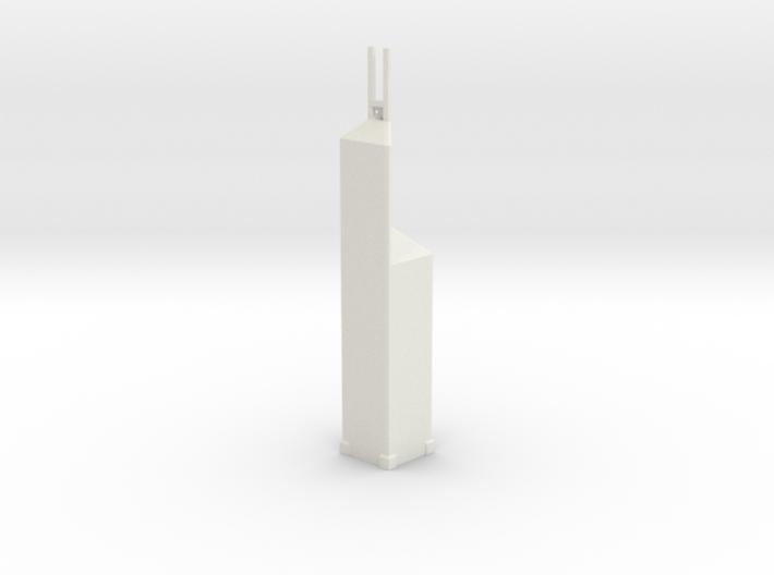 Bank of China Tower - Hong Kong (1:4000) 3d printed