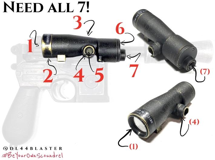 m19 FULL CIRCLE  light port (4 of 7) 3d printed