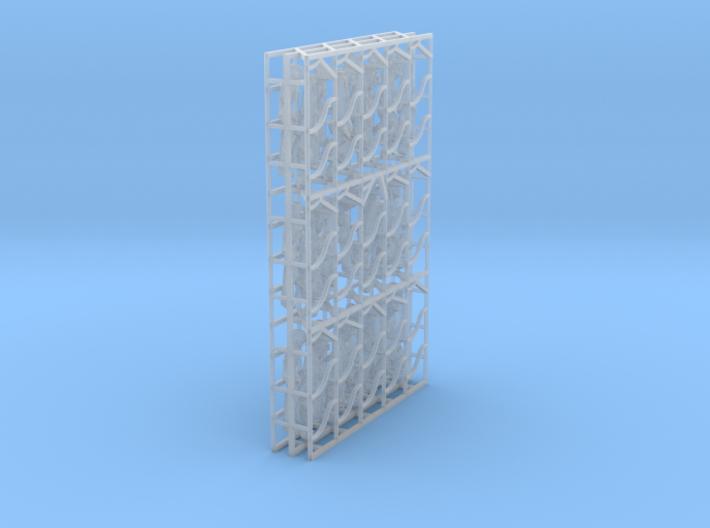 1/87 Skeleton Set001 3d printed