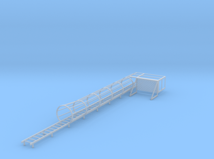 1/64 Ladder and cage with platform Right 3d printed