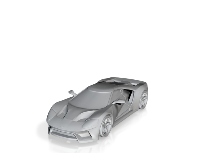 Ford GT - 2017 [100mm] 3d printed