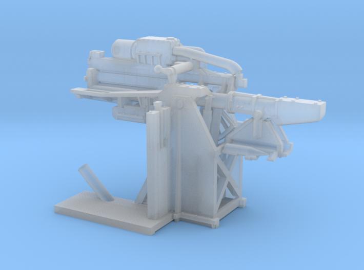 1/144 USN USN 5 inch Loading Machine Port 3d printed