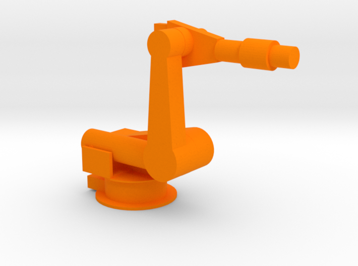 4-Axis Industrial Robot V03 3d printed