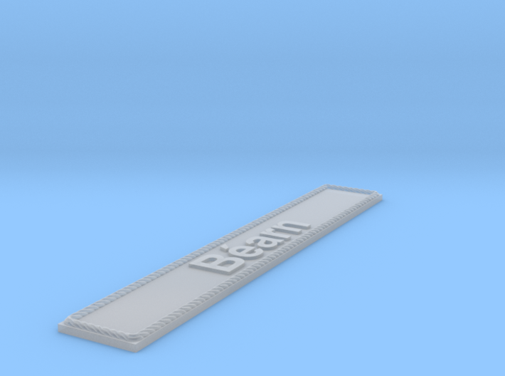Nameplate Béarn 3d printed