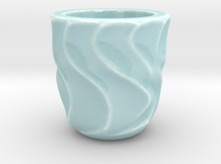 Shot Glass 1(Porcelian) 3d printed