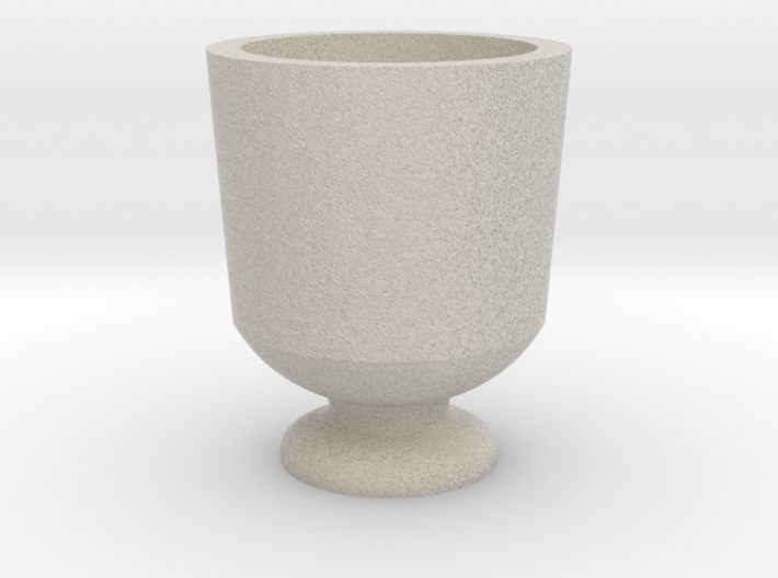 Shot glass Planter5 3d printed
