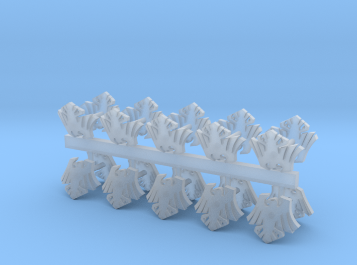 Crow Shoulder pad icons x20 Left 3d printed