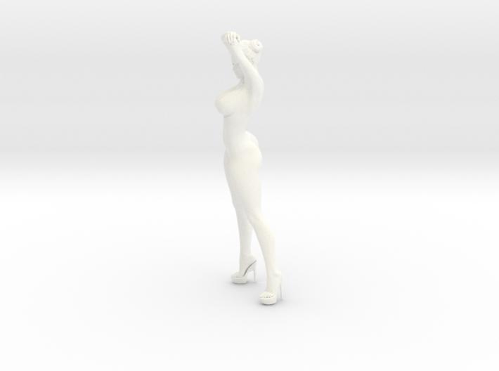 Heels girl 005 Scale 1:10 3d printed
