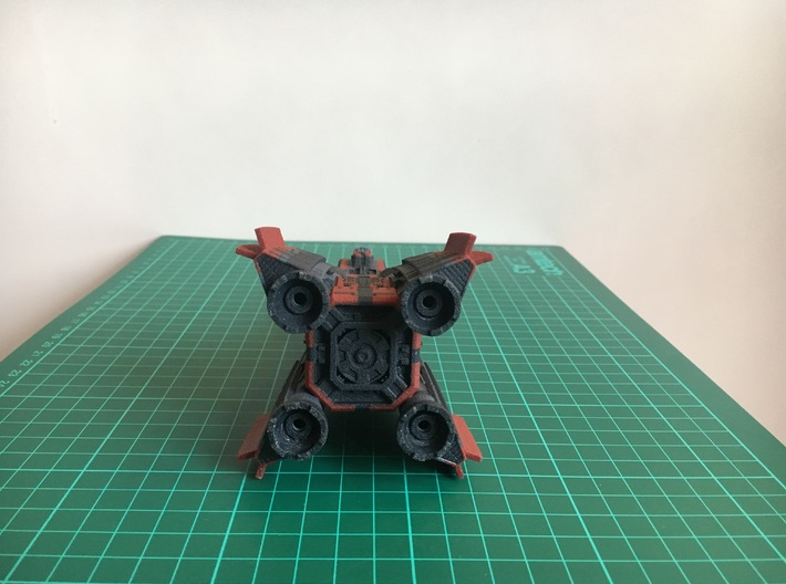 The Expanse: Donnager [Full Colour] [200mm] 3d printed