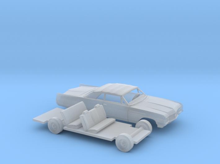 1/160 1964 Buick Electra Convertible Kit 3d printed