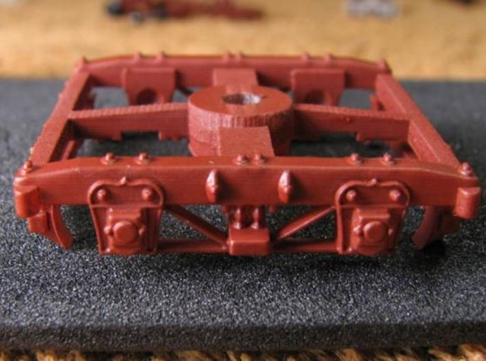 HOT30s x4 USMRR Civil War wood beam truck 3d printed earlier version