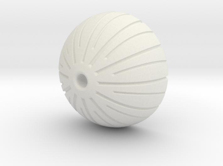 Acorn Bead 3d printed