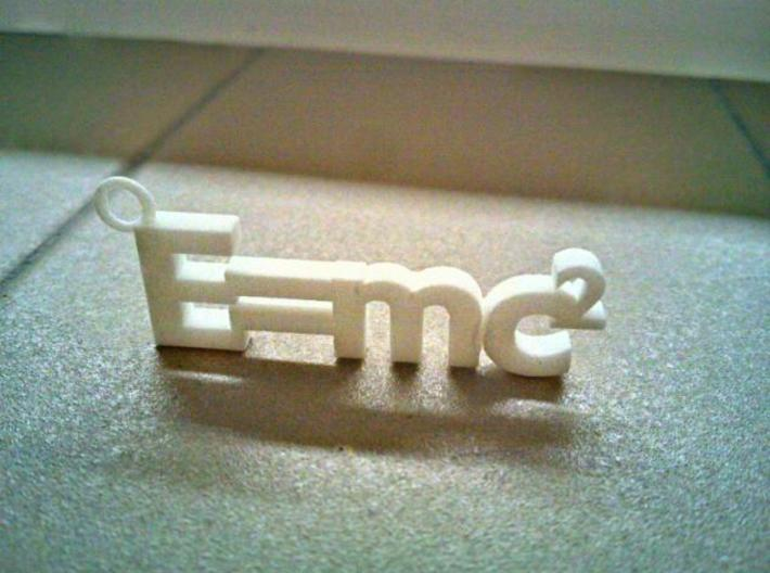 E = mc2 (small version) 3d printed