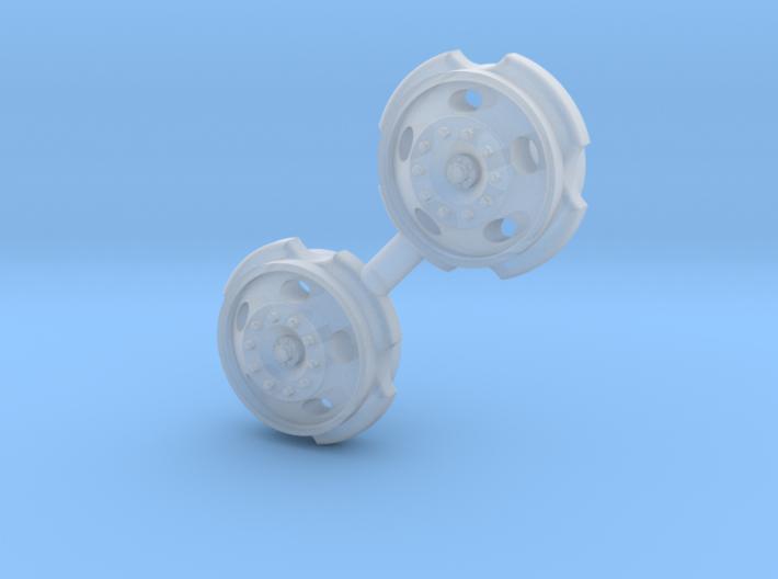 1/64 5 Hole Steer rims, 1 set 3d printed