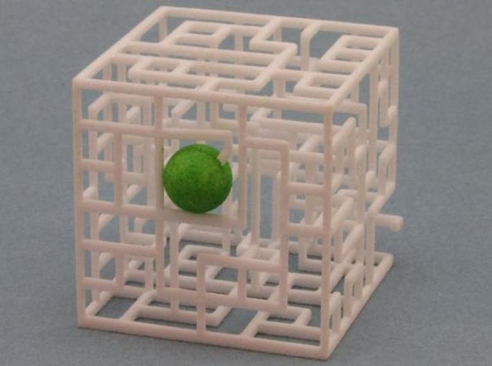 Maze Mix-pack 1 – 555, 666, 777 3d printed Ball in Entrance