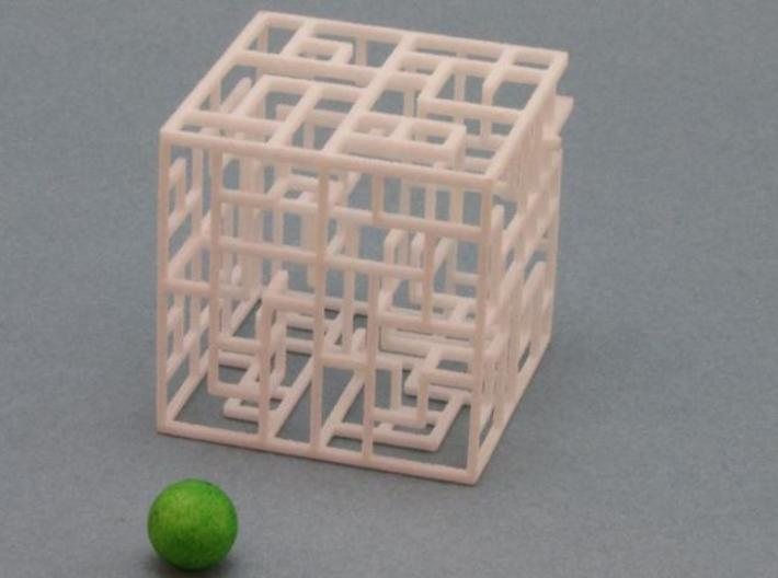 Floating Labyrinth 2-pack 666 3d printed 2 Mazes and Balls