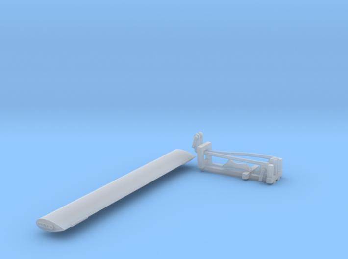 1/20 PT Boat Airfoil Wind Deflector Set001 3d printed
