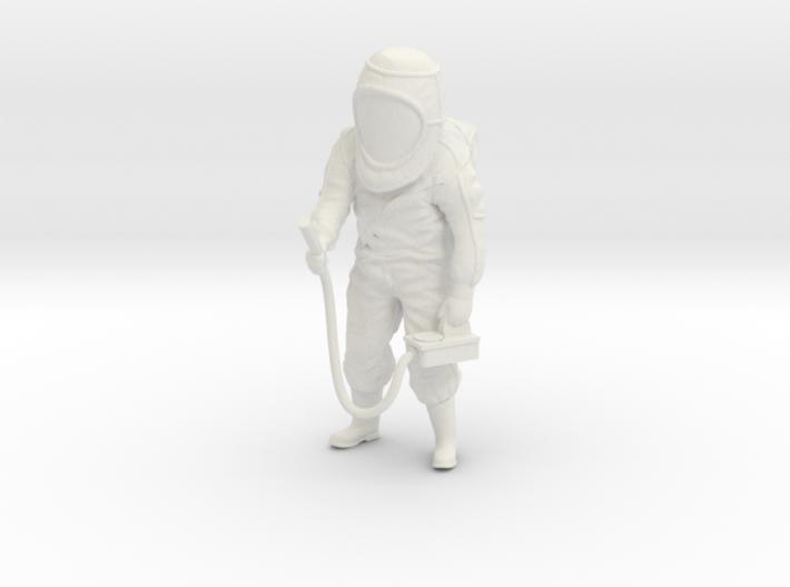 Hazmat Suit / Dosimeter / 1:32 3d printed