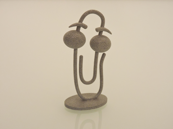 CLIPPY 2.0 (small) 3d printed