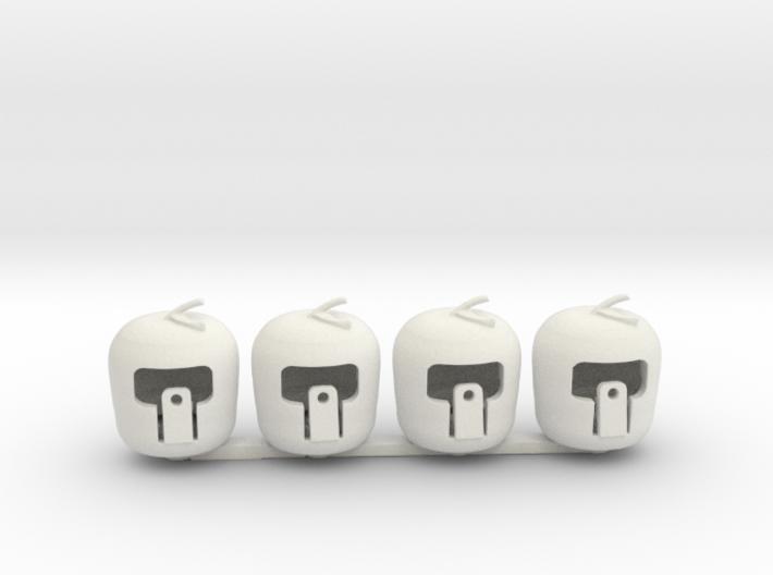 n scale apples 3d printed