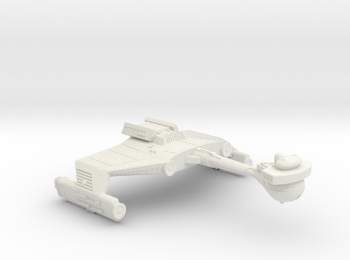 3125 Scale Klingon D5SK Refitted Scout Cruiser WEM 3d printed