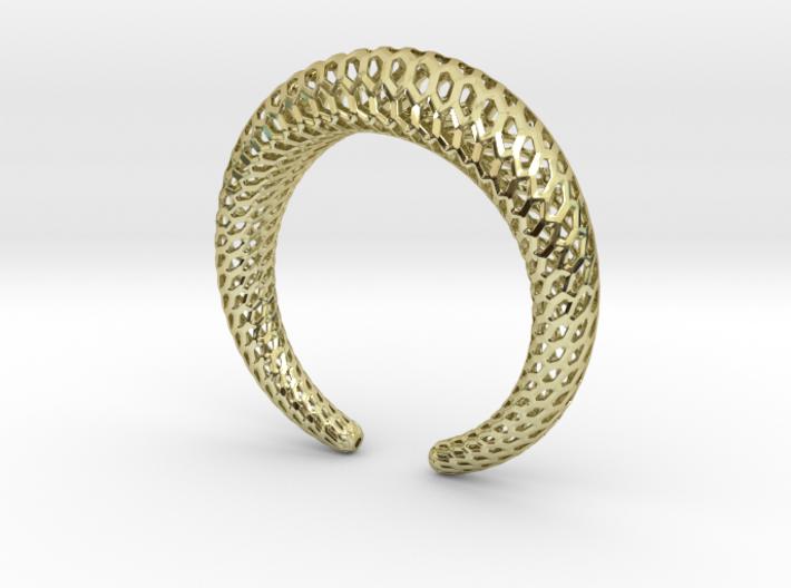 DRAGON Strutura, Bracelet Thick. 3d printed