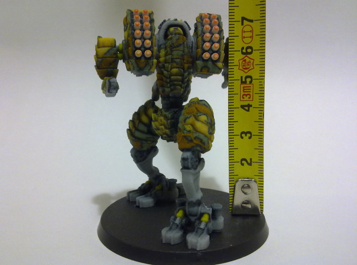 Heavy Mech suit 3d printed Size. 60mm base