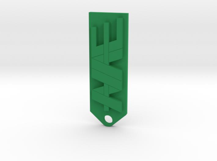 NAE farms key chain 3d printed