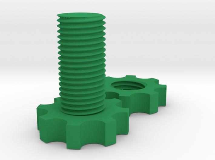 Fidget Bolt 3d printed