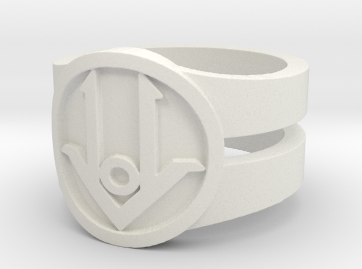 Ring Design ACE 01 3d printed