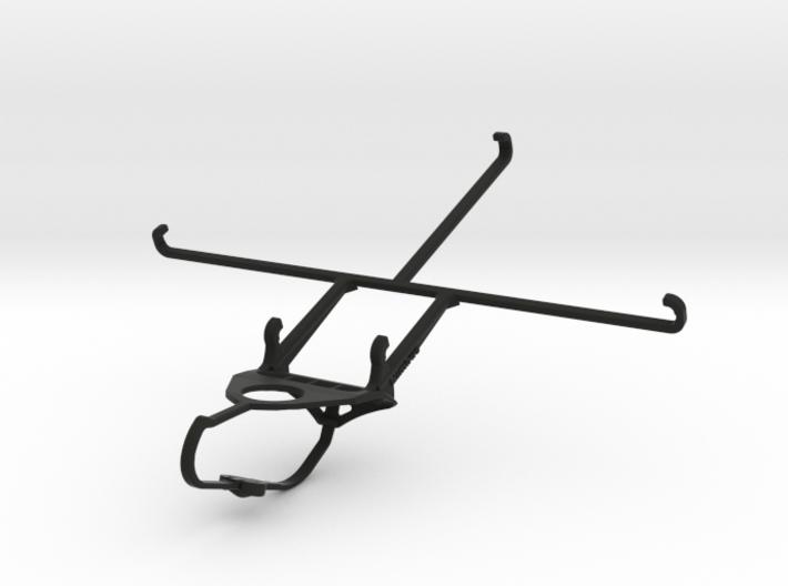 Steelseries Nimbus & Apple iPad mini Wi-Fi - Front 3d printed