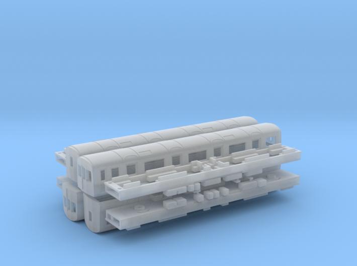 N Gauge D78 Underground Kit 3d printed