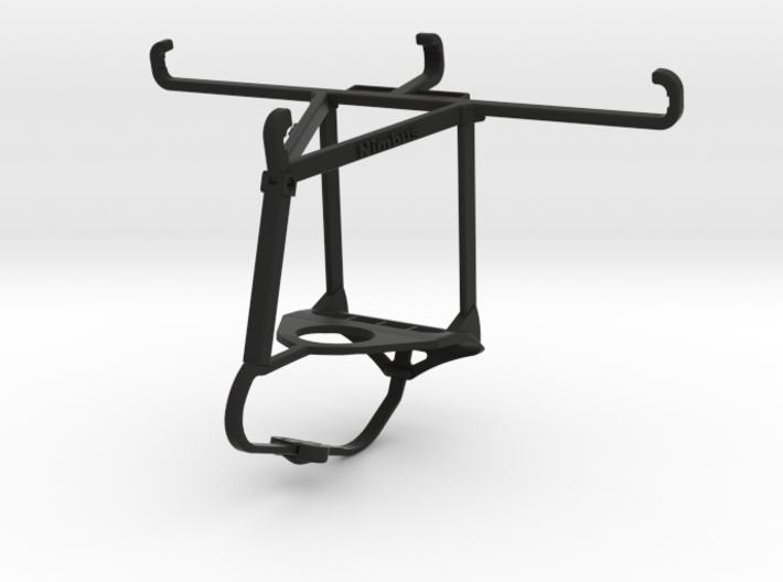 Steelseries Nimbus & Apple iPhone X - Over the top 3d printed