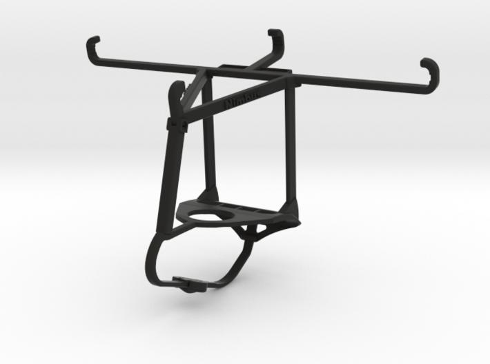 Steelseries Nimbus & Apple iPhone 8 Plus - Over th 3d printed