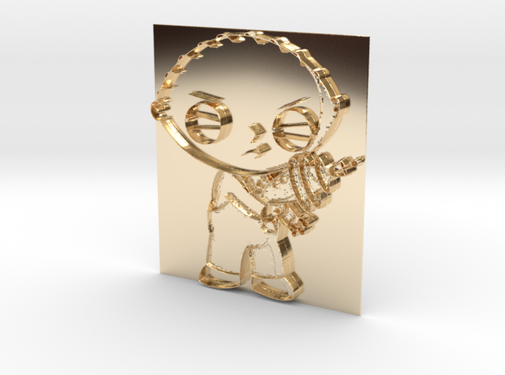 Stewie griffin pendant ky7wf5mag by mrjordevans249 stewie griffin pendant 3d printed aloadofball Choice Image