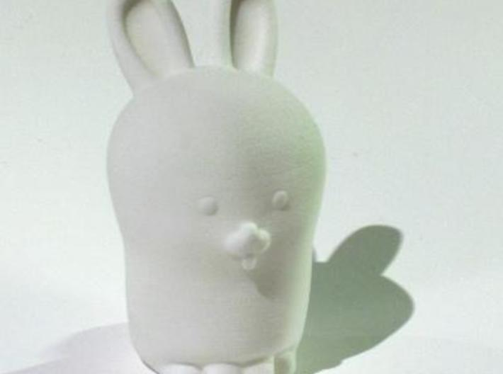 Glenda the Bunny 3d printed note: this picture is of an earlier version. See the previous image for differences.