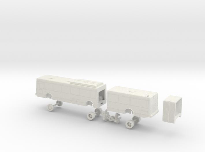 HO Scale Bus NABI 436 RTC 500s 3d printed