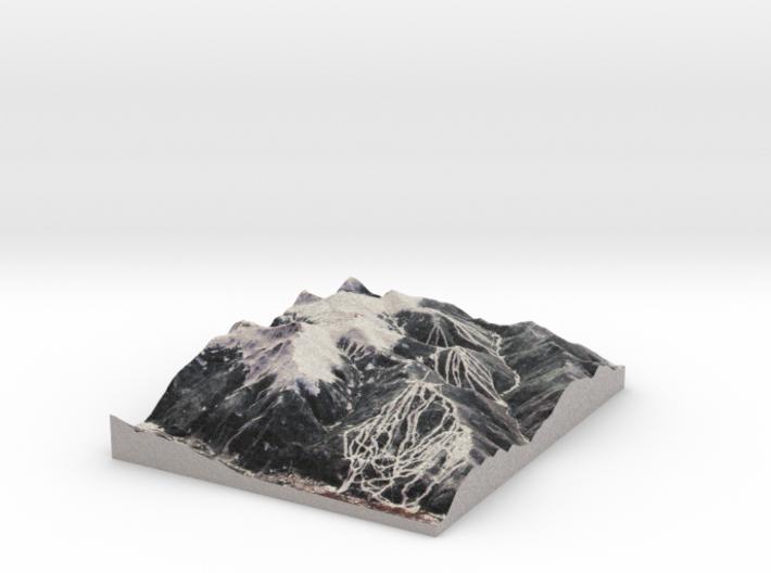 "Keystone Resort, Colorado - Winter: 8""x10"" 3d printed"