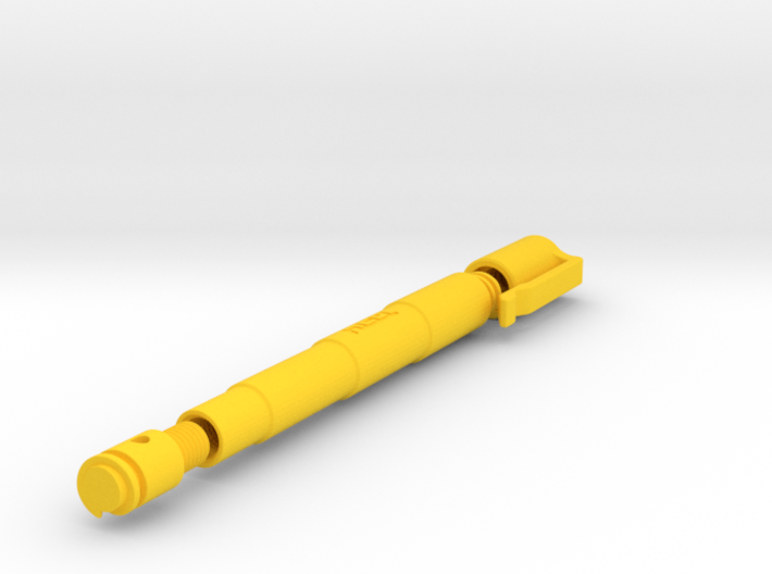 Simple Capped Pen (050) 3d printed