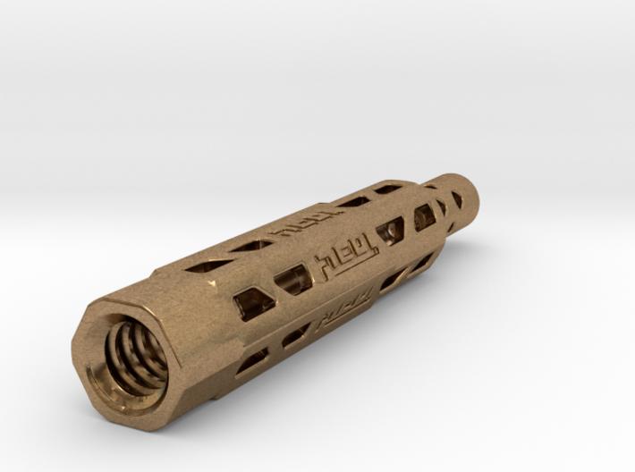 Pen Insert for Tool Pen Mini: Head Brass (042) 3d printed