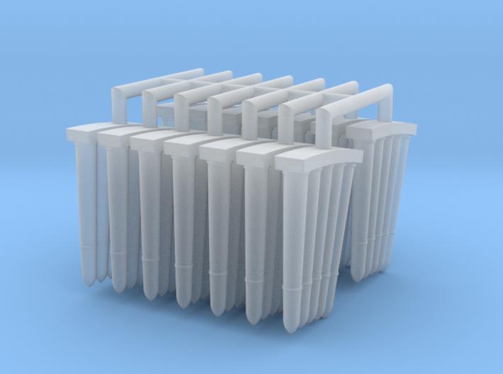 3-7 cm Granades 1 to 25 3d printed
