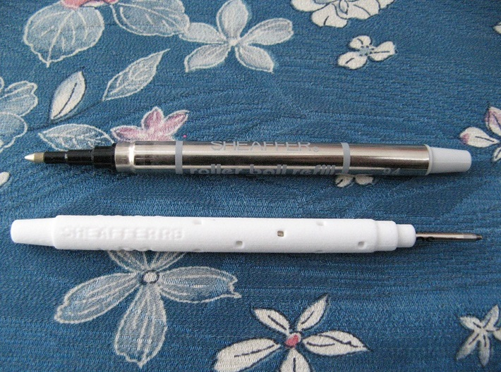 Adapter: Sheaffer RB to D1 Mini 3d printed (Refill Not Included)