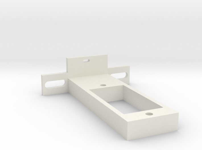 rc-servo mounting kit (for Reely S-0008) 3d printed
