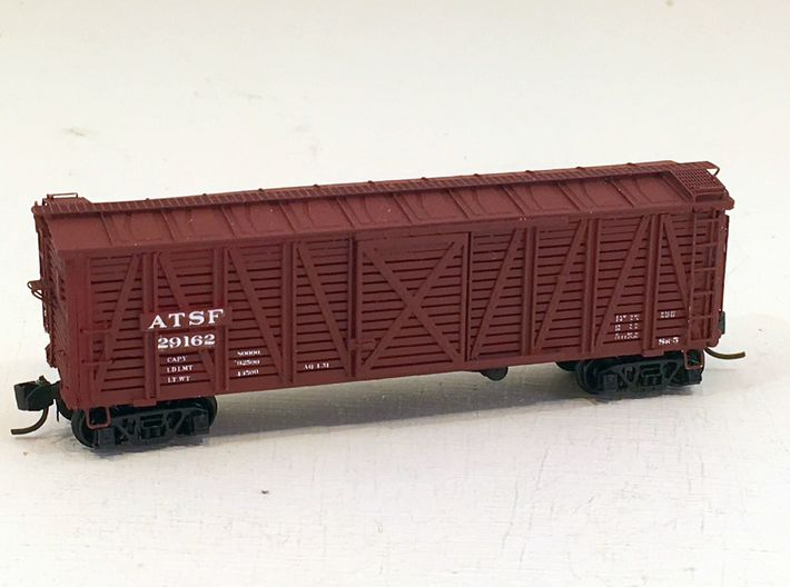 ATSF STOCKCAR Sk-5, complete shell 3d printed